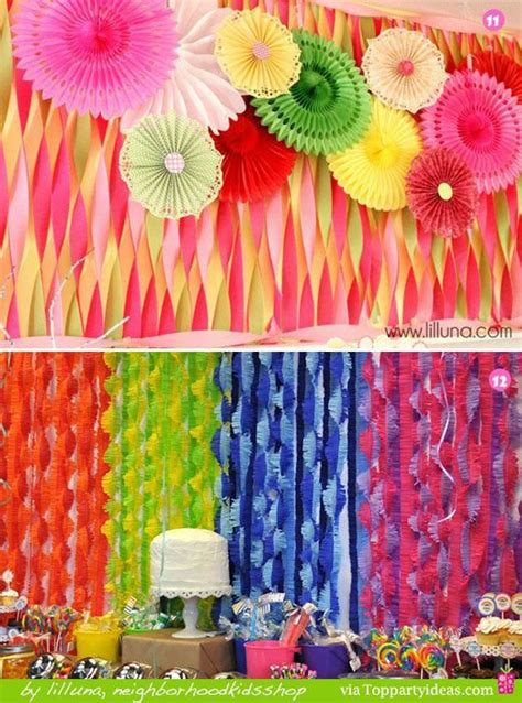 Decorating Ideas With Streamers by 19 Best Crepe Paper Streamers Images On