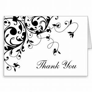 Black And White Cards 7 Best Images Of Black And White Thank You Cards Printable