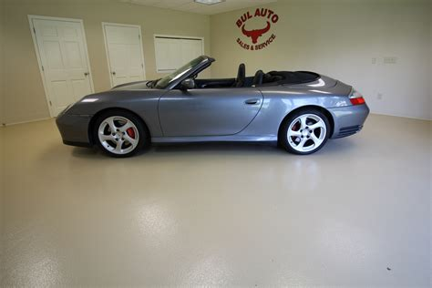 2004 Porsche 911 Carrera 4s Cabriolet Stock 16242 For