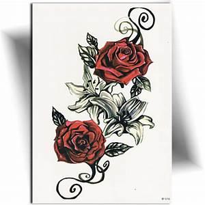 Rose En Tatouage : tatouage lys et rose tatouage ph m re mikiti ~ Farleysfitness.com Idées de Décoration