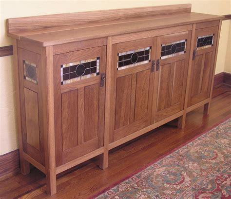 Craftsman Sideboard by Custom Design Sideboard Craftsman Buffets And