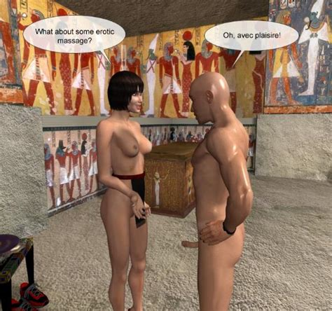 Sex Massage In Ancient Egypt 3d Anime Comics And Hentai