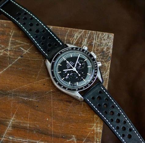 Black Le Mans Racing Watch Strap | B & R Bands