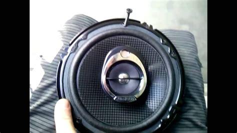 mini cooper  front speaker audio upgrade youtube