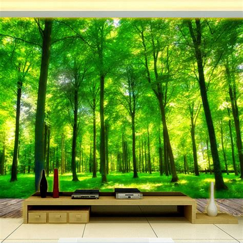 effect custom photo wallpaper living room bedroom