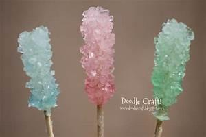Doodlecraft Homemade Crystal Rock Candy