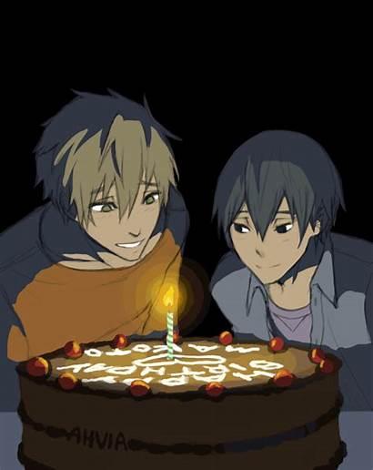 Makoto Makoharu Birthday Yaoi Happy Tachibana Haru