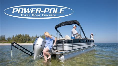Fishing Boat Pole Anchor by Installing A Power Pole Anchor On A Pontoon Boat Youtube