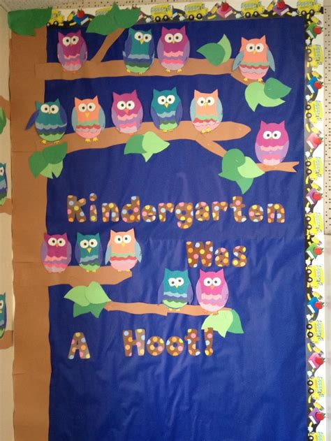 welcome back bulletin boards apples and abc s kindergarten was a hoot bulletin board