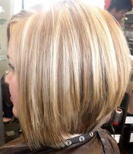 Shoulder-Length Stacked Bob Hairstyles