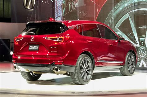 2019 acura rdx prototype debuts with a 2 0l turbo the torque report