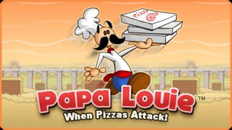 jeux de cuisine papa louis papa louie free flash flipline studios