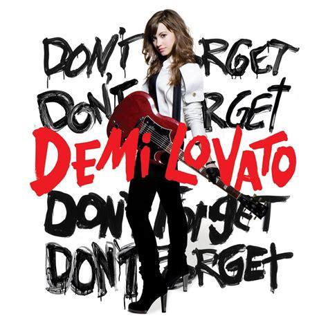 Album Msicas Fotos Demi Lovato Dont Forget