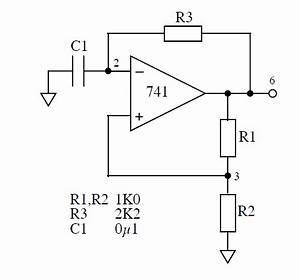 oscillator where is the oscilator in the 555 chip With opamp multivibrator