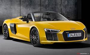 New 2016 Audi R8 Spyder Revealed - AutoConception.com
