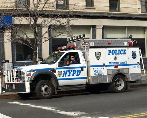 Pcar Nypd Ess Emergency Service Squad Police Truck, New Yo