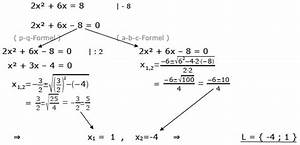 Lösungsmenge Berechnen : gleichungen l sen nullstellen nullstellen berechnen gleichungen mathe ~ Themetempest.com Abrechnung