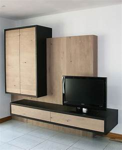 Meuble Tv En Chene : 1000 ideas about meuble en chene massif on pinterest meuble en chene country style and ~ Teatrodelosmanantiales.com Idées de Décoration