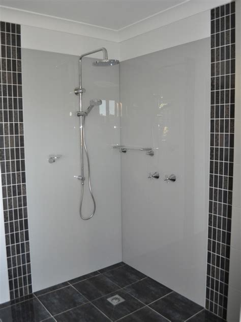Bathroom Shower Walls - bathroom shower splashbacks ozziesplash pty ltd