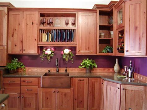 kitchen cabinets in bathroom clearcreek knotty cherry 6119