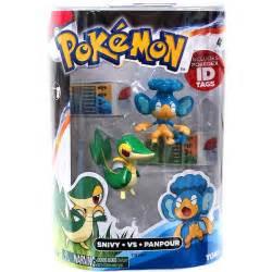 pokemon toys snivy vs panpour 2 pack