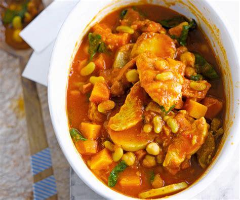 recette de cuisine au four plat gourmand ragoût de poulet et flageolets