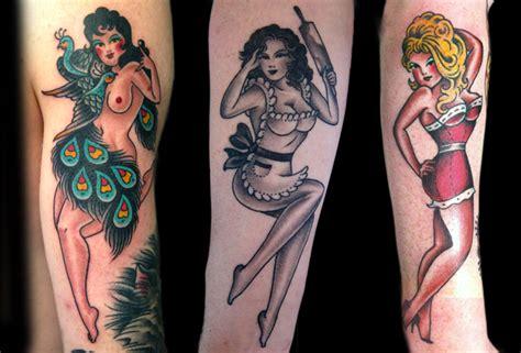 pin modern pin up tattoos on