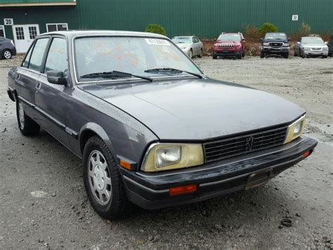 Peugeot Cars For Sale In Usa by 1988 Peugeot 505 Stx For Sale Nh Candia Tue Nov 21