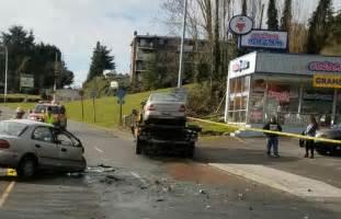 man dies  head  crash  tow truck  burien