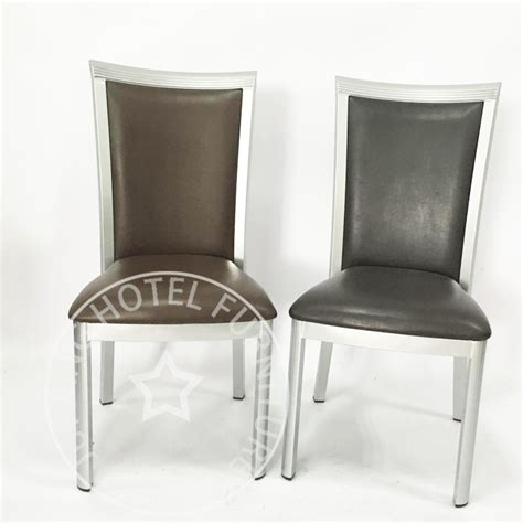 new leather restaurant aluminum chair for sale buy