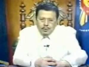 President Joseph Estrada's Address to the nation on the ...
