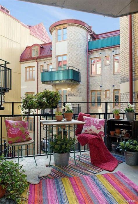 fruehlingsdeko basteln den kleinen balkon frisch gestalten