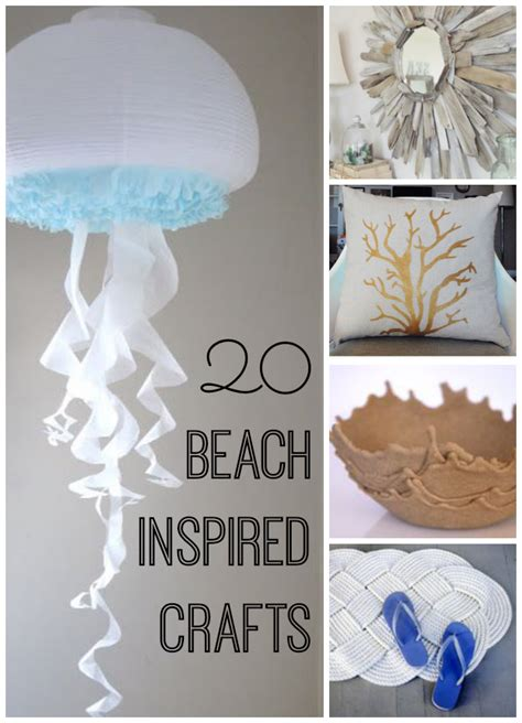 beach inspired crafts  life  kids