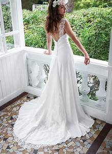 ivory sleeveless a line stretch satin destination wedding With stretch lace wedding dress