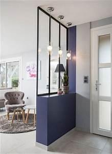la verriere interieure en 62 idees pour toute la maison With porte d entrée alu avec luminaire salle de bain industriel