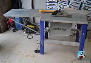 Scie Sur Table Metabo : scie sur table metabo tkhs 315 c table de lit a roulettes ~ Dailycaller-alerts.com Idées de Décoration