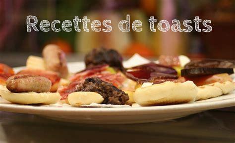 canape apero facile et rapide recettes de toast pour apéritif facile