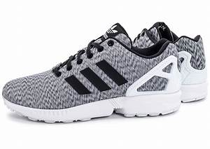 Adidas ZX Flux Mesh Blanche Chaussures Homme Chausport