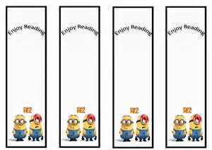 Despicable Me Printable Bookmarks