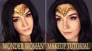 WONDER WOMAN Comic Inspired Makeup Tutorial