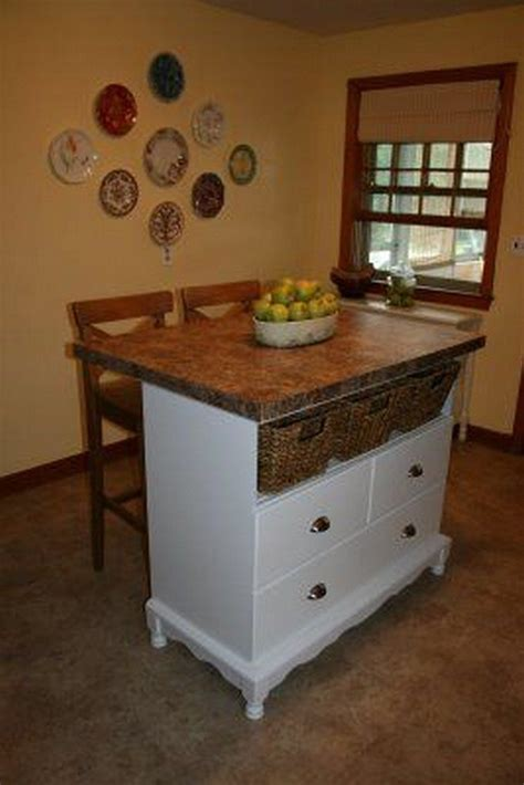 dresser kitchen island from a changing table to a kitchen island diy projects