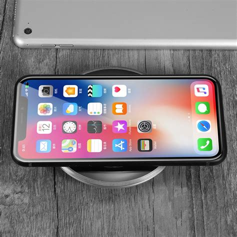 iphone pad charger qi wireless charger charging pad mat dock for iphone 8
