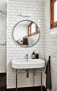 Ikea Miroir Rond : choisissez un joli lavabo retro pour votre salle de bain ~ Teatrodelosmanantiales.com Idées de Décoration