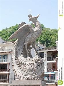 Phoenix statue stock photo. Image of architecture, beauty ...