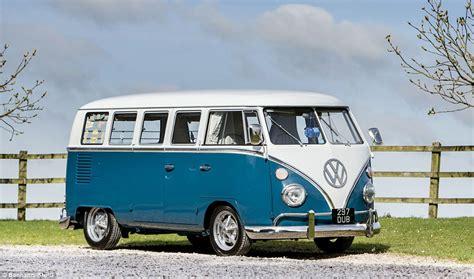 vintage vw camper van  set  sell   daily