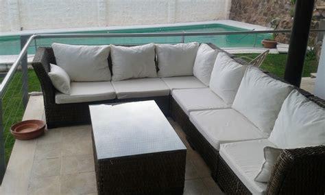 cojines para sofa de terraza foto cojines para sof 225 rinconero de exteriores de luque y