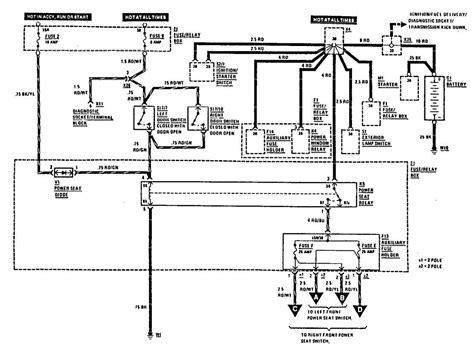 Sl500 Mercede Power Seat Wiring Diagram by 2004 Mercedes Sl500 Fuse Diagram Wiring Diagram Database
