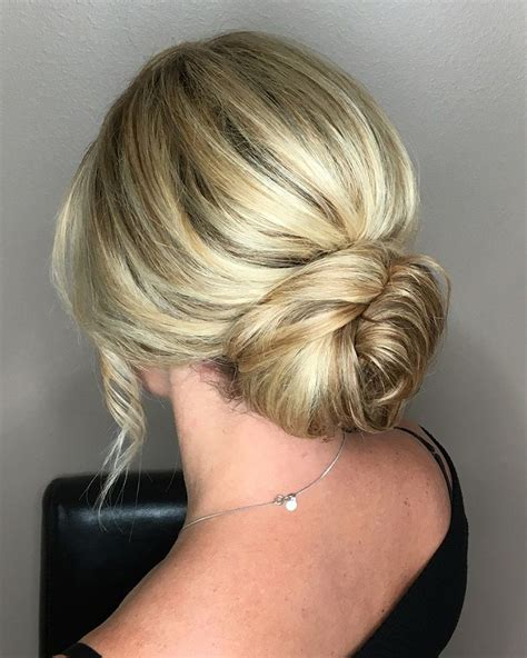 Classic Wedding Updo Hairstyles by Classic Low Bun Wedding Hairstyles To Inspire Your Big Day