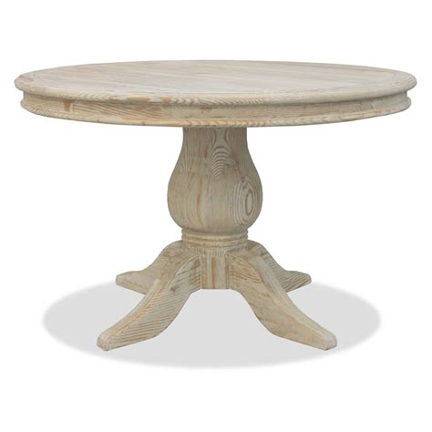 antique grey dining table south cone california round pedestal dining table