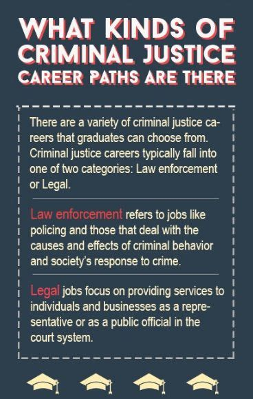 types  criminal justice careers